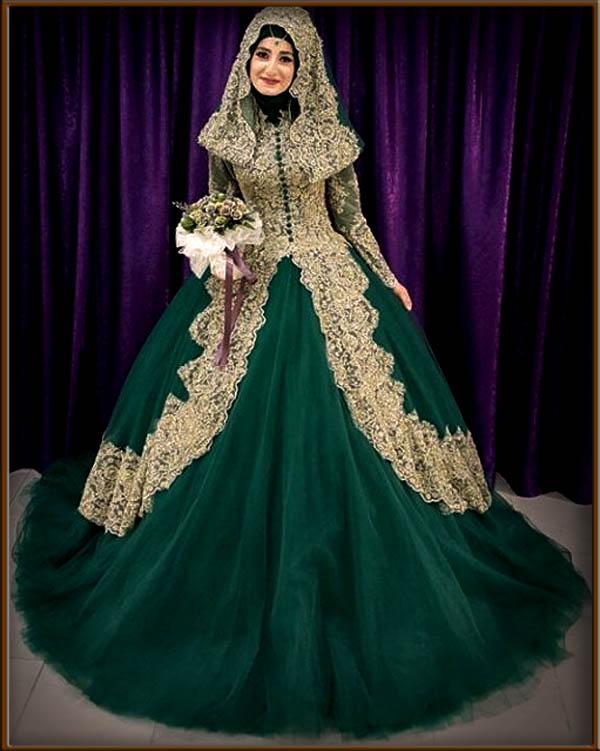 Tips Memilih Gaun Pengantin Muslim Yang Bagus Dan Modern