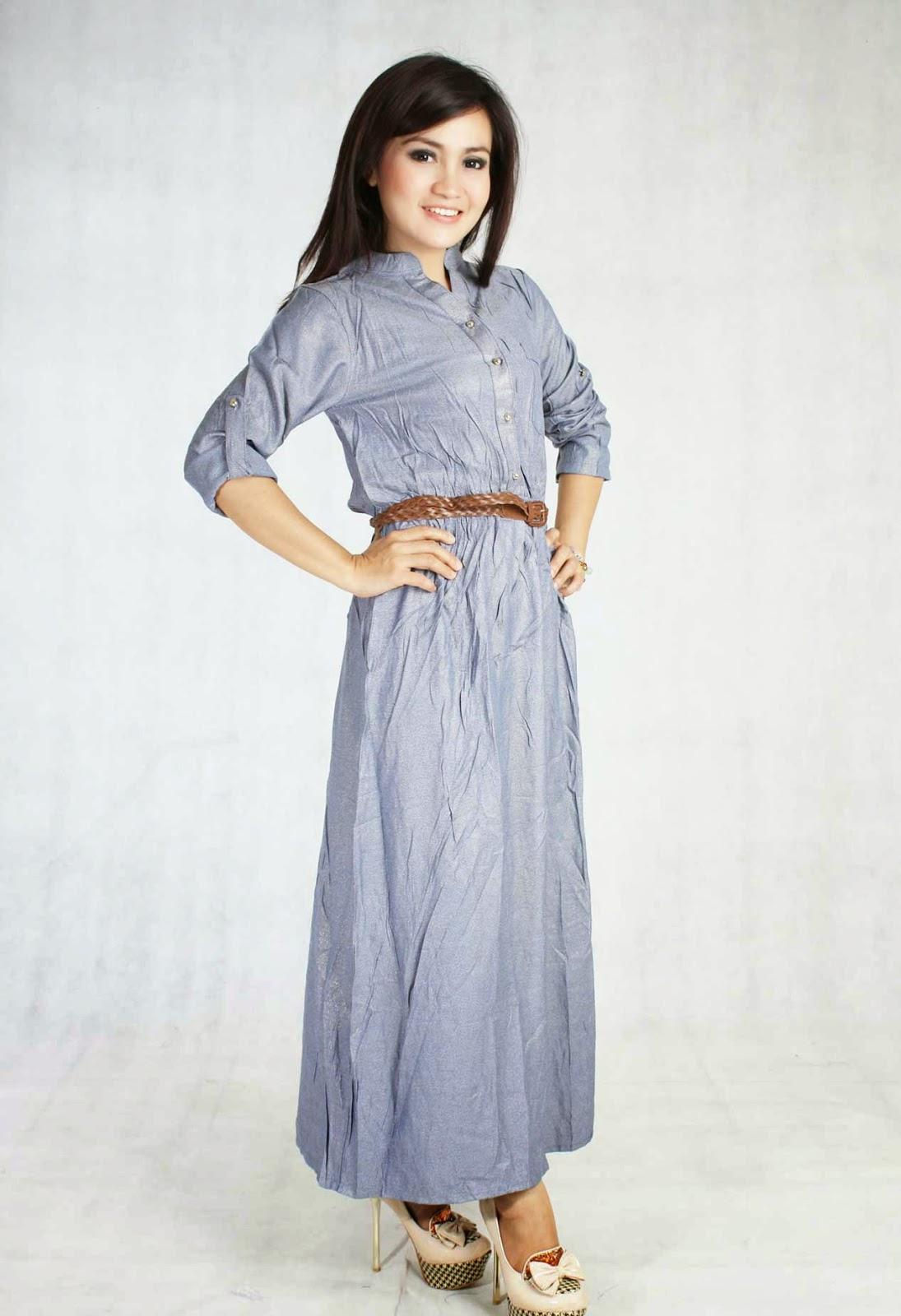 Model Long Dress Modern Untuk Wanita Masa Kini